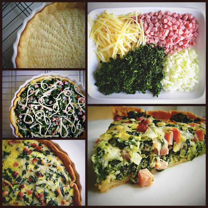 ham-swiss-quiche-collage