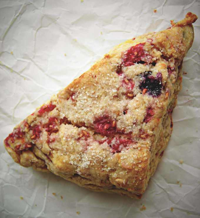 mixed-berry-scone